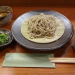 蕎麦工房 膳 - もりそば(細かい目)