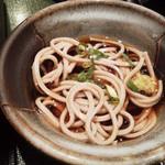 博多水炊き 水晶焼き 華まる - お蕎麦もキモチつきます