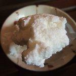 アジアン アジアン - ココナツミルクアイスは素朴な味