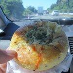 バンテルン - ゴボウサラダパン150円。朝御飯の替わりにはこんなパンが嬉しいですね!