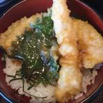 小魚 阿も珍 - 天丼、ミニ