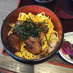 小魚 阿も珍 - 穴子丼、ミニ