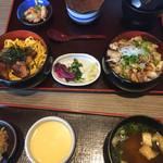 小魚 阿も珍 - 仙酔丼 (1100円、税別)
