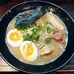 麺屋 風迅 - 【比内地鶏の鶏白湯そば 並 + 味玉子】¥750 + ¥100