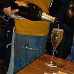 アガリコオリエンタルビストロ - 2016/1 スパークリングワイン 泡シャンドン グラス ¥500