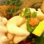 わらびや - 白子ポン酢と熱燗でチビチビ
