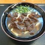 Gansodokidokiudon - 肉肉うどん