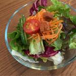カテッジイン・レストラン - さっぱり柑橘ドレッシングのサラダ
