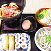 つたや - 料理写真:山ごぼう入りうどんのすき焼き御膳 1,000円
