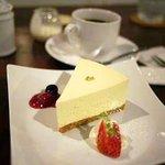 カフェ マール - レアチーズケーキ