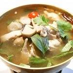 鶏肉のあっさりトムヤムスープ ★ トム・ヤム・ナームサイ