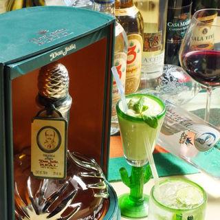 ドリンクにもこだわり有!メキシコのビール・ワイン・テキーラ
