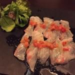 セタ オーガニックレストラン - ぷりっぷりの鮮魚のカルパッチョ