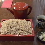 三昧庵 みしまや - せいろ(648円)