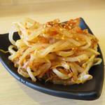 尾道ラーメン 麺屋壱世 - 辛もやし