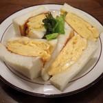 喫茶ガボール - コロナの玉子サンドイッチ・元味(\680)