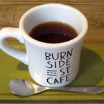 BURN SIDE ST CAFE CRAFT KITCHEN+  KUZUHA - ホットティー(ランチのドリンクセットで+税別\250)