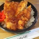 弁田屋 - 若鶏のタレカツ丼(小盛) 300円税別