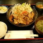 みやだい倶楽部 - 生姜焼き定食