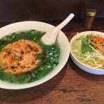 秋山食堂 - ベトナム炒飯¥680サラダ付