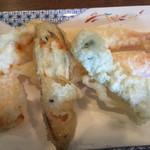生粉蕎麦 玄 - 天ぷら4種5品