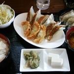 46878271 - 餃子三昧定食800円