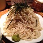 唐そば - つけ麺 大盛の麺