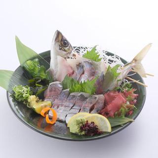 魚場から直送!新鮮な鮮魚に自信あり!