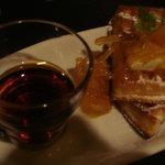 FLUKE - 柚子ジャムとクリームチーズのワッフル