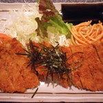 大富士 - 上おろしカツ 850円 ヘレ肉使用のヘルシーメニュー