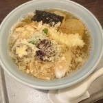 梅乃家 - マーヤンラーメン(¥950)天ぷらチャーシュー麺です ※夜に訪問