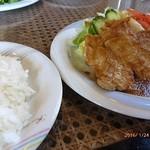 レストランポエム - 料理写真:ランチ・ポークジンジャー