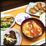 46882032 - 焼き餃子定食 600円