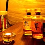 BAR TRIANGLE - 国産のウイスキーもそろっています。