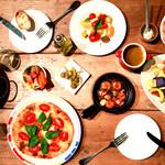 くにたち村酒場 - 料理写真:お酒に合う地元のお野菜たっぷり使ったお料理を多数ご用意しています!