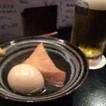 居酒屋はまちゃん - 生ビール&おでん(H28.1.10)