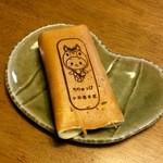 小松屋本家 - 知立市のキャラクター「ちりゅっぴ」の焼き印