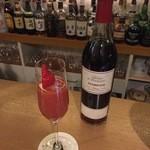 BAR 8TIMES  - 苺のカクテル