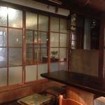 サリサリ - 古い建物をリノベーションしてます 壁とか天井とか綺麗に手を入れてます