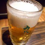 鳥良 - 生ビールジョッキ