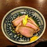 八海山越後屋 - 合鴨ロース煮(514円)