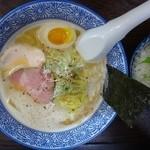 46889969 - 鶏白湯、生醤油