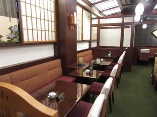 椿屋珈琲店 神楽坂茶房 - 内観