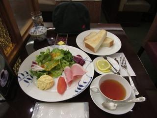 椿屋珈琲店 神楽坂茶房 - 椿屋モーニングセット 1200円