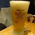 やきとり仲ちゃん - 生ビール