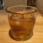 46891390 - 参考に、冷たいほうじ茶です