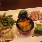 ジョルナータ - 前菜6種盛り合わせ 980円
