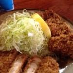 銀座 井泉 - 牡蠣フライ240円×3個