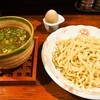 Menyahigeinu - 料理写真:牛スジつけ麺 & アメ玉