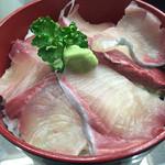 道の駅 松浦海のふるさと館 - ぶり丼=500円